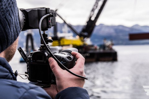 Filmproduktion in Norwegen